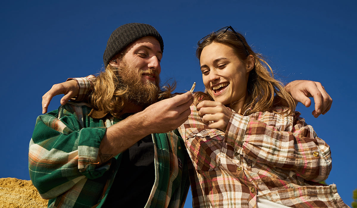 Couple getting high. Does CBD Oil get you high?
