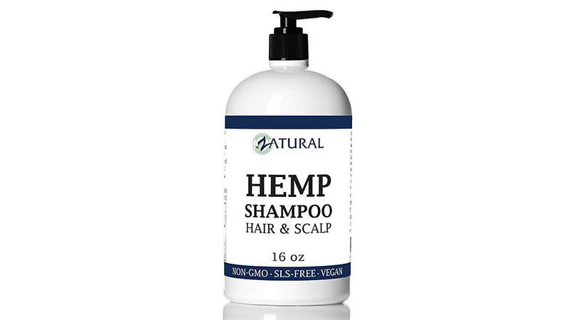 hemp hair shampoo for sale from zatural.com.