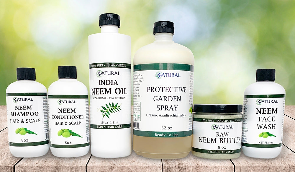 Zatural neem product collection