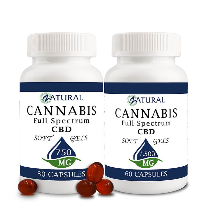 Zatural CBD softgels
