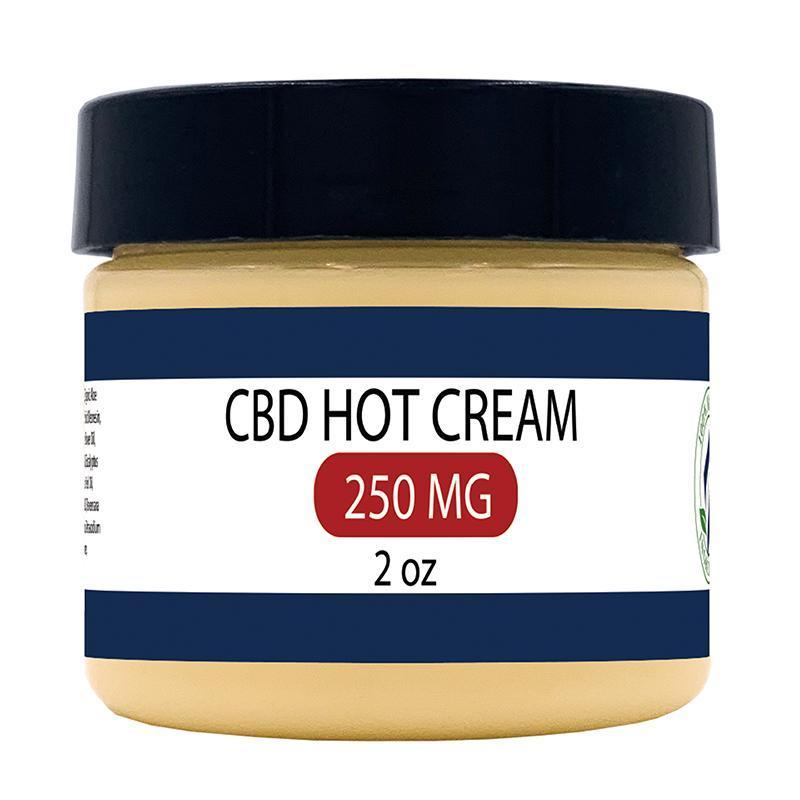 Zatural.com 2oz 250mg CBD Hot Cream