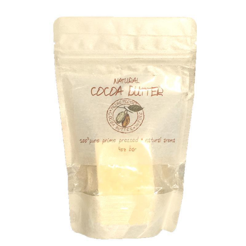 Zatural.com Health and Wellness 4oz Raw Natural Cocoa Butter
