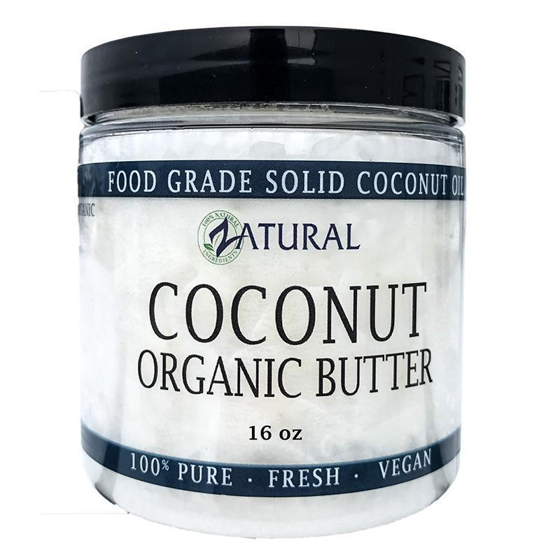coconut butter front image