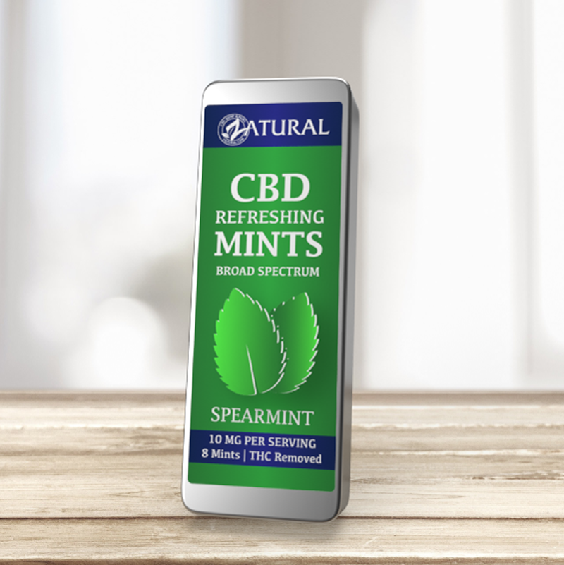CBD Spearmint Mints