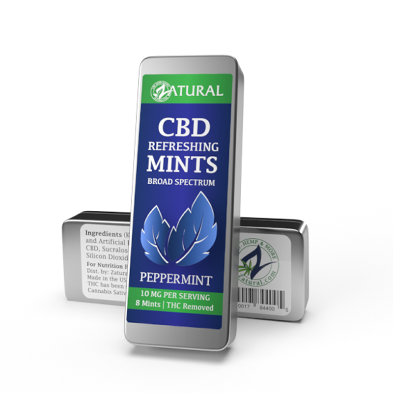 CBD Peppermint Mints two pack