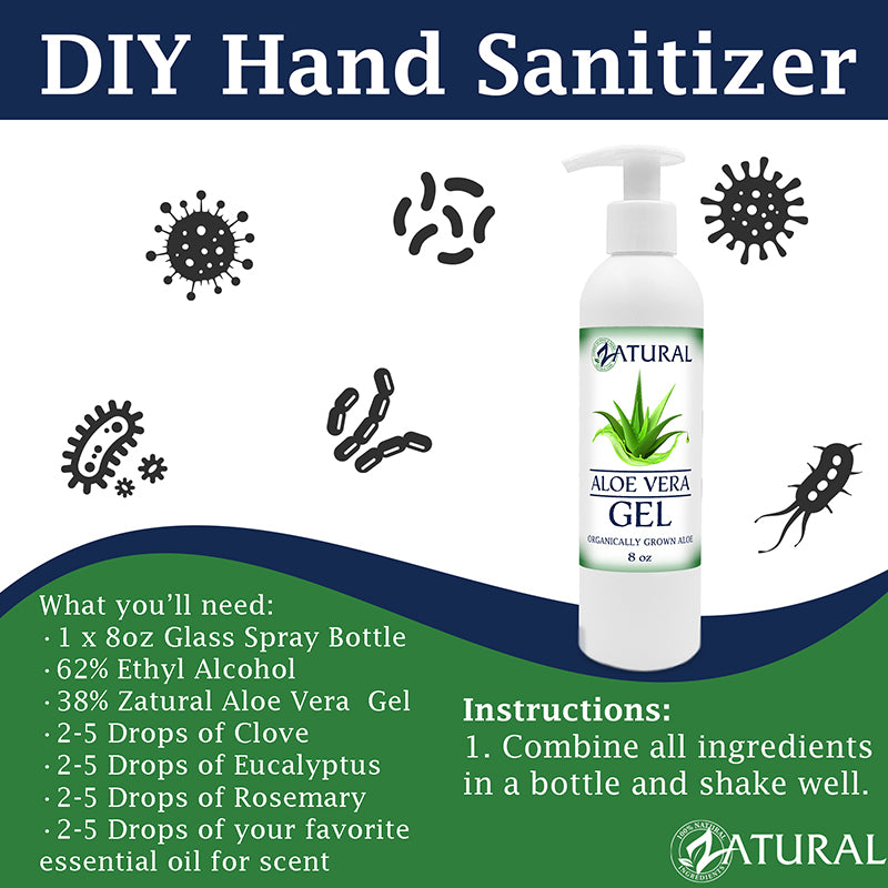 DIY Hand Sanitizer Graphic