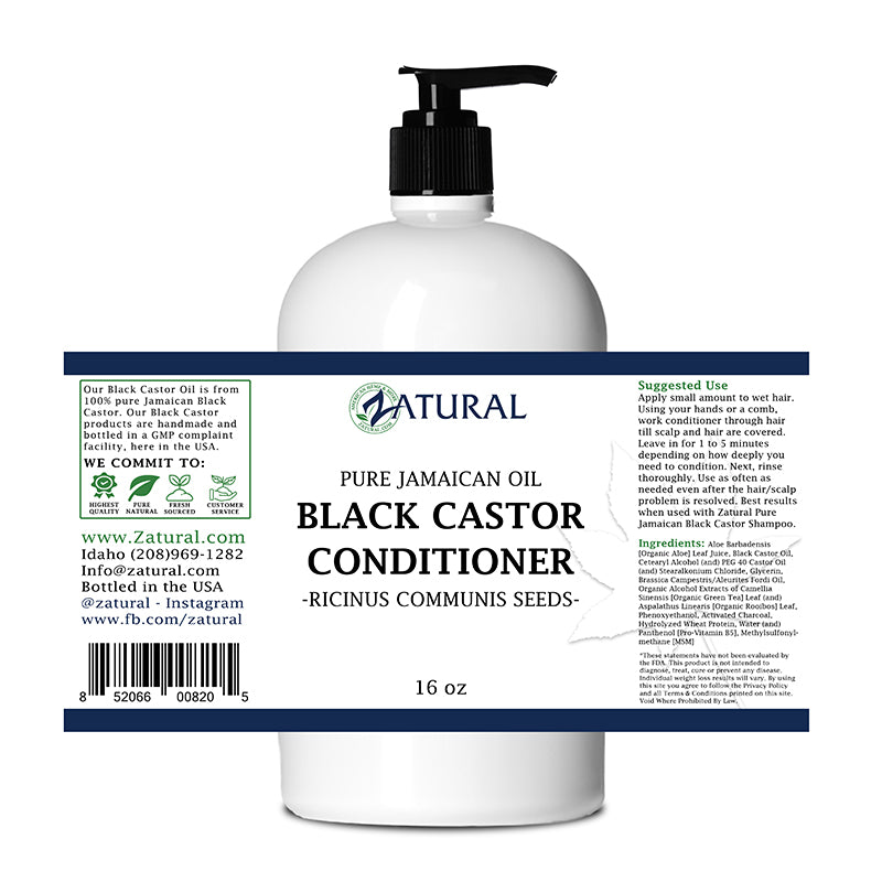 Jamaican Black Castor Oil Conditioner - 100% Pure Tropic