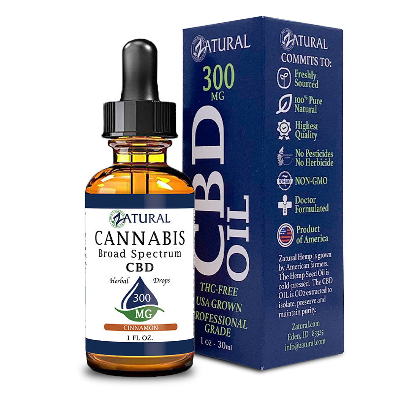 300mg Cinnamon Flavored CBD Oil
