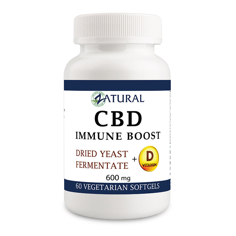 CBD Immune Boost Softgels 600mg