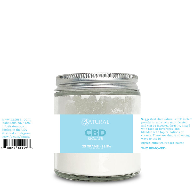 CBD Isolate Powder 25 Grams