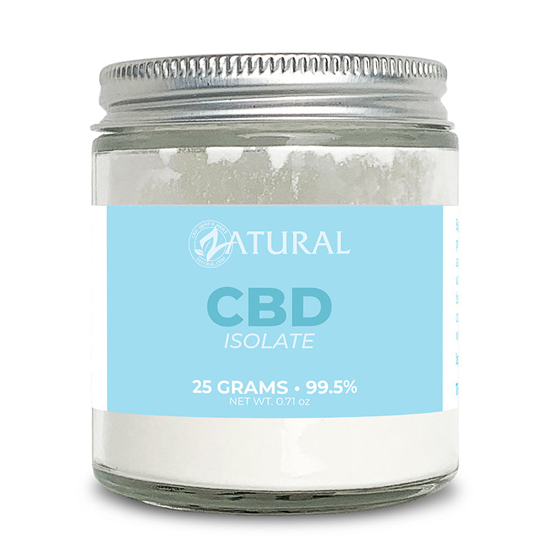 Zatural CBD Isolate Powder 25 Grams