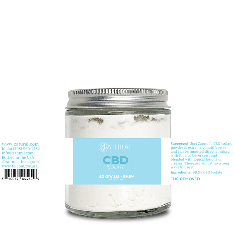 CBD Isolate Powder 50 Grams