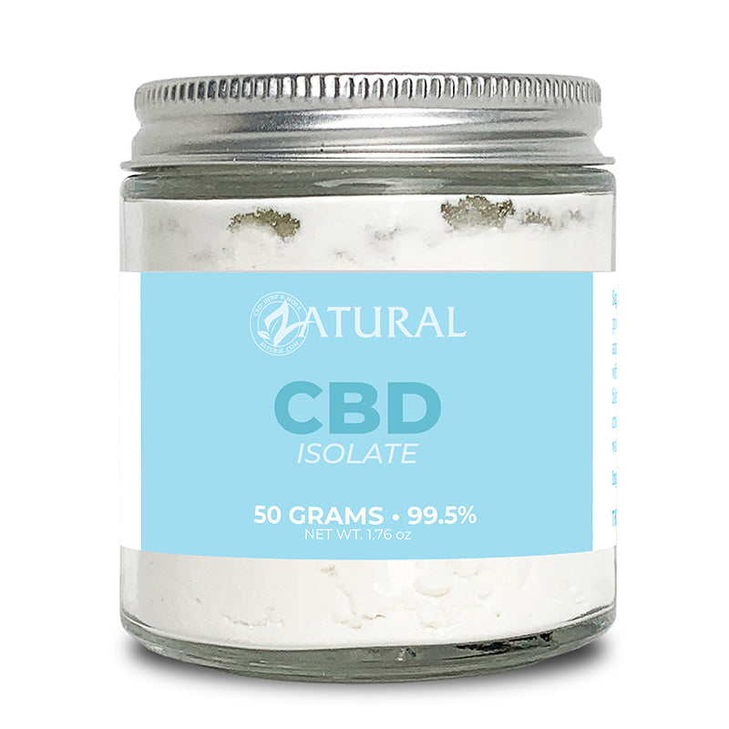 Zatural CBD Isolate Powder 50 Grams