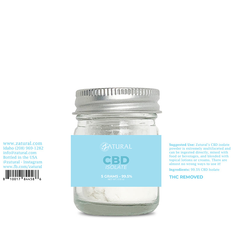 CBD Isolate Powder 5 Grams