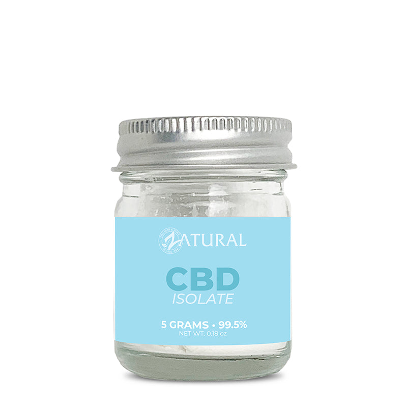 Zatural CBD Isolate Powder 5 Grams