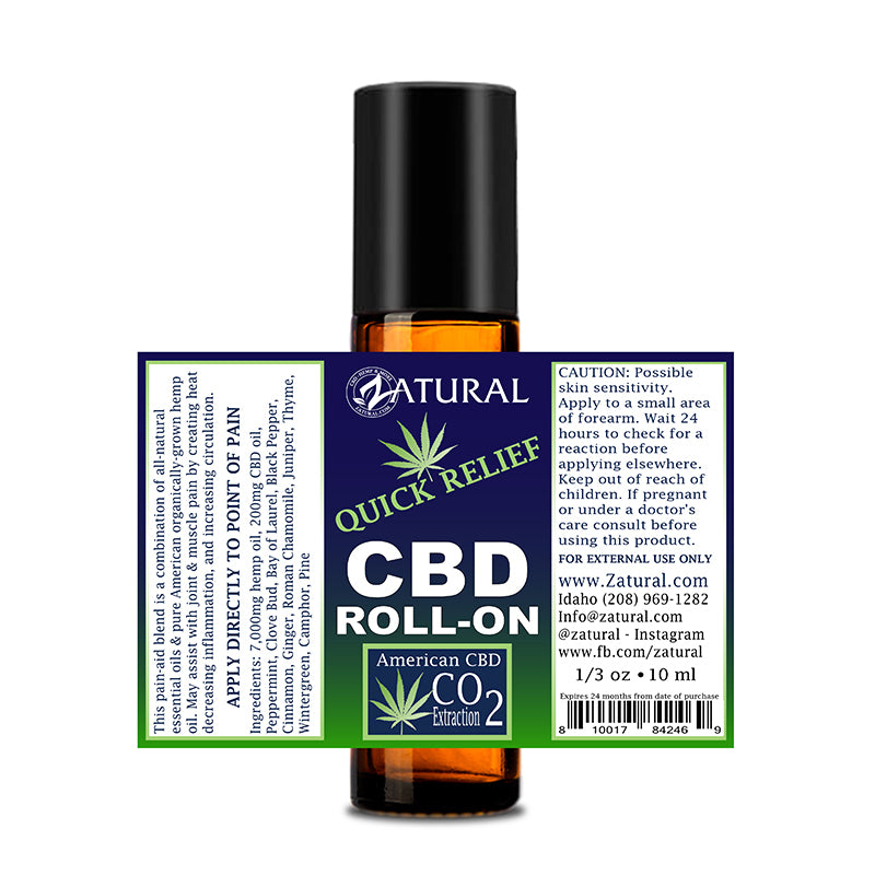 CBD Rapid Relief Roll-On