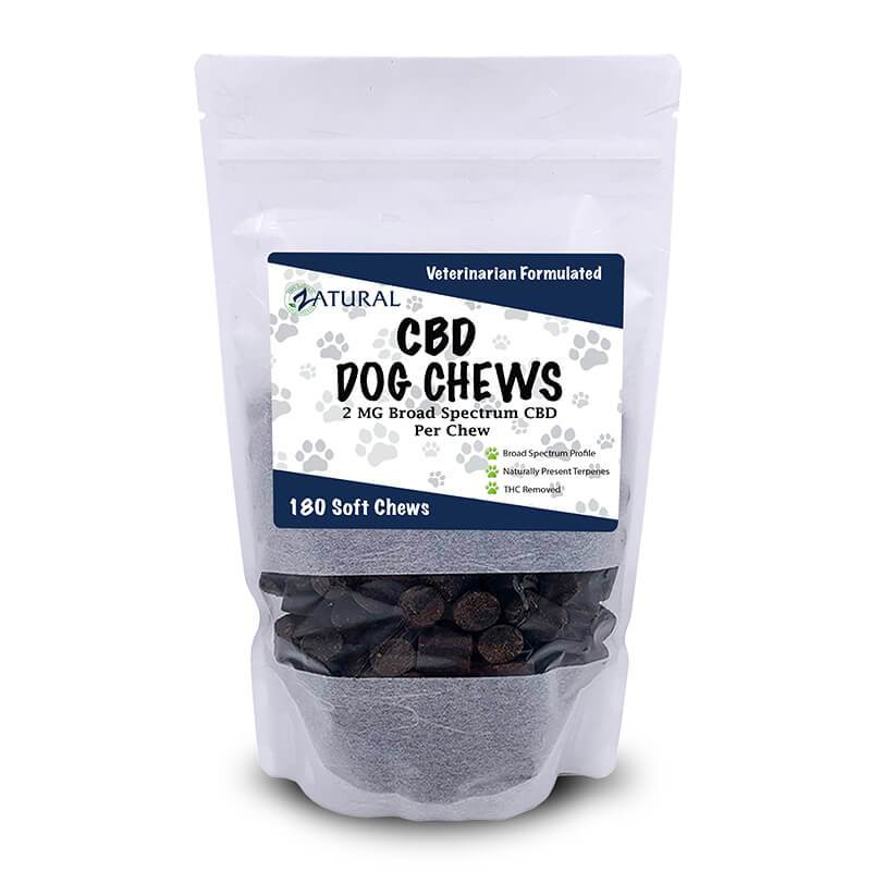 CBD Dog Soft Chews- Broad Spectrum