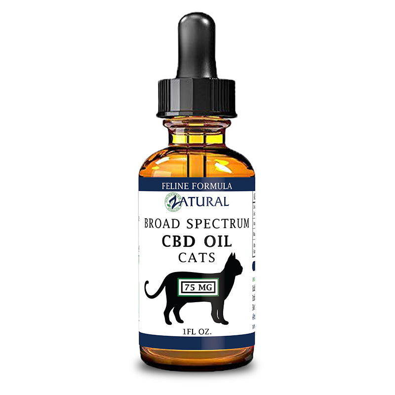 Feline CBD Oil 75mg