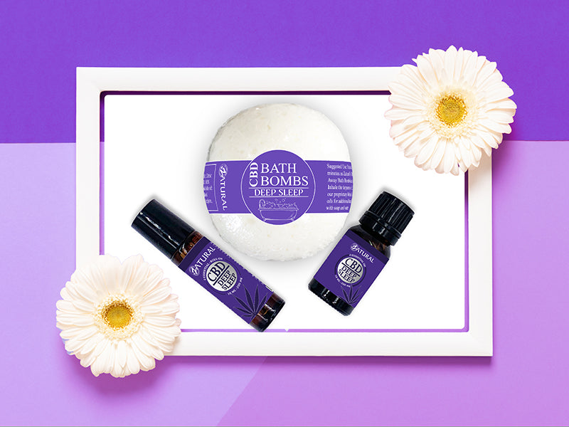 CBD ESSENTIAL OIL SPA KIT