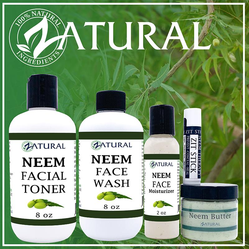 Organic Facial Neem Kit + FREE ZIT STICK