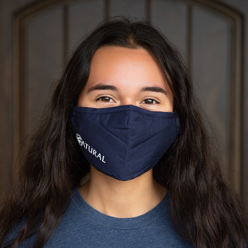 Gabby wearing Zatural Face Mask