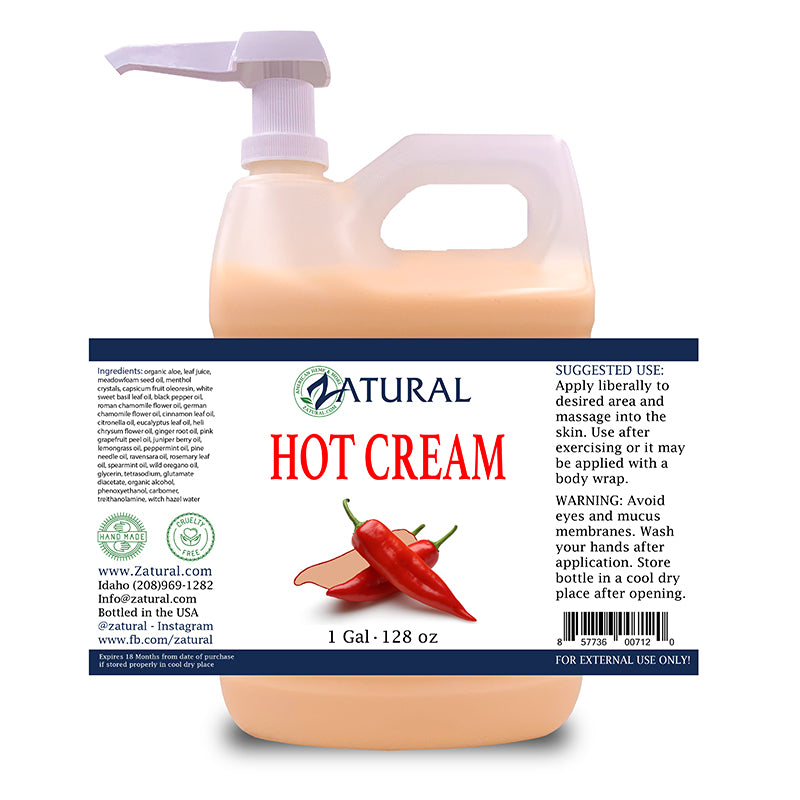 1 gallon Zatural Hot Cream