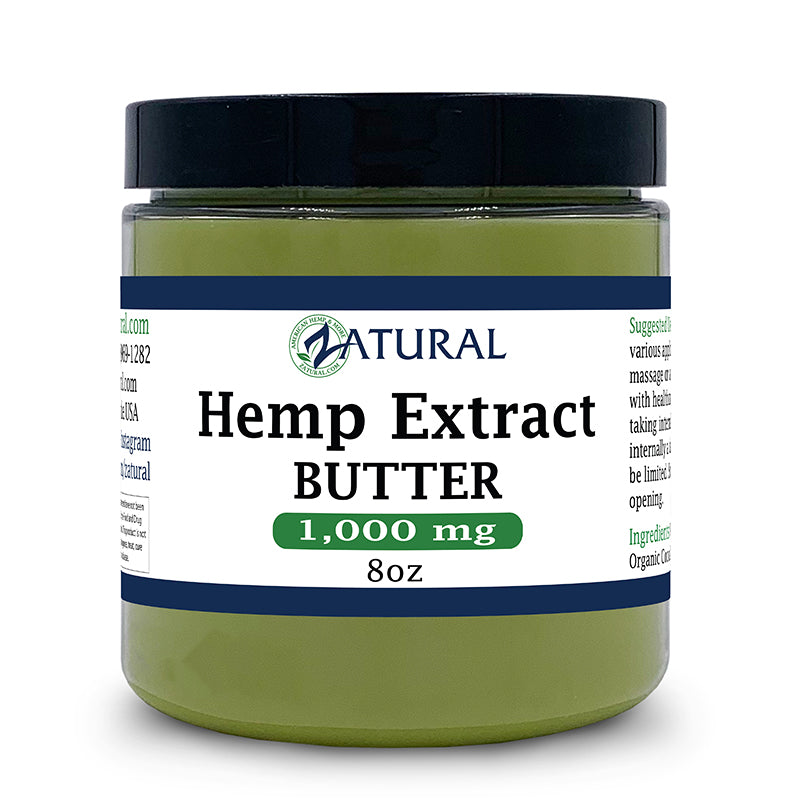Hemp Extract Butter 1000mg