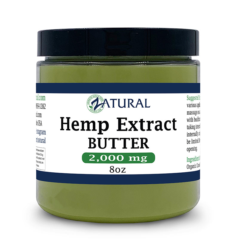 Hemp Extract Butter 2000mg