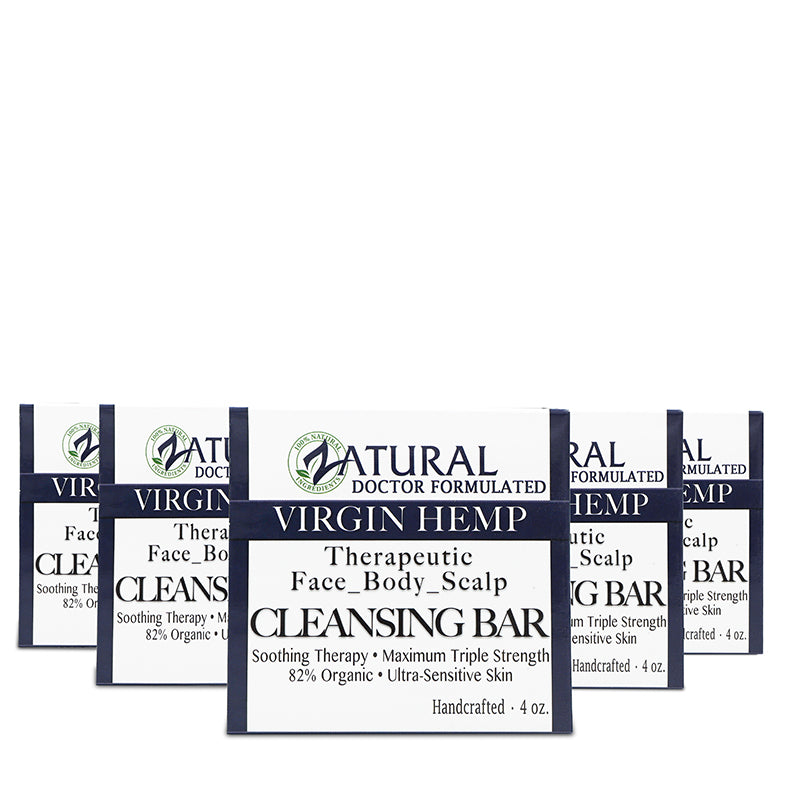 Organic Hemp Soap five pack