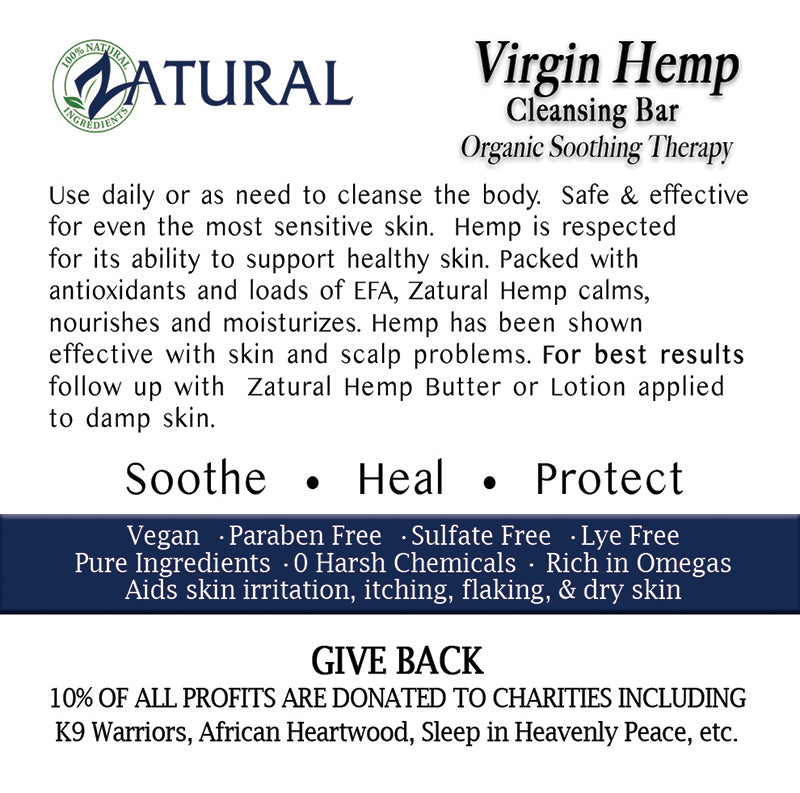 Organic Hemp Oil Soap