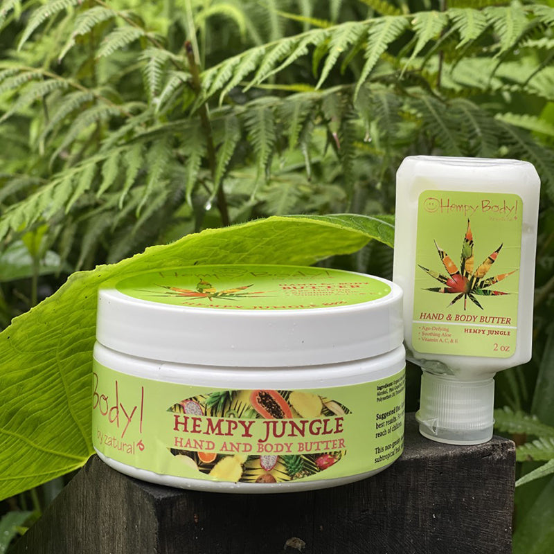 Hempy Jungle Butter |  Hand and Body