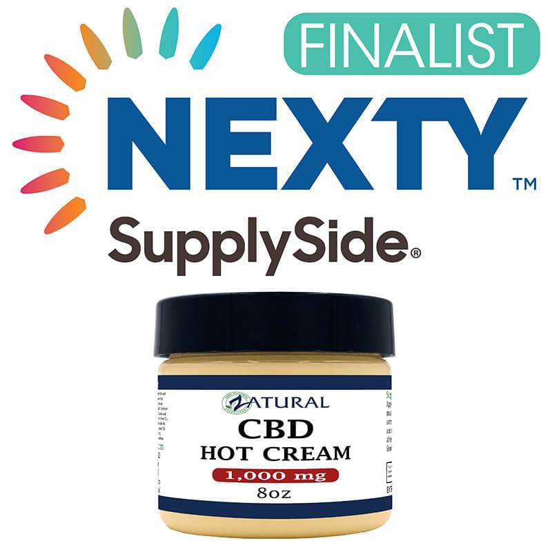 CBD Hot Cream award