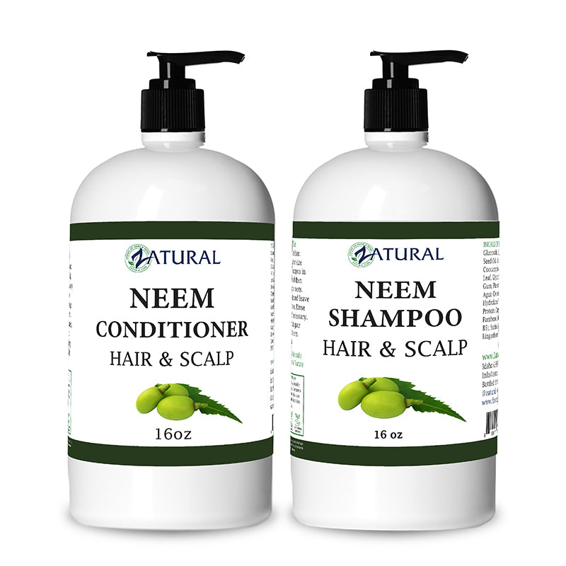 16oz Neem Conditioner and Shampoo Kit