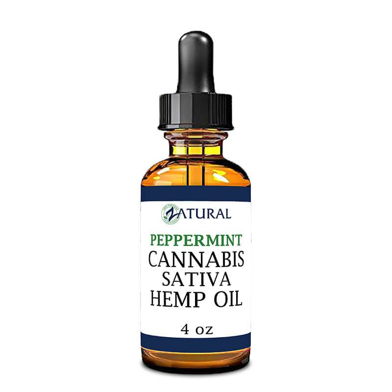 Peppermint flavored Hemp Oil