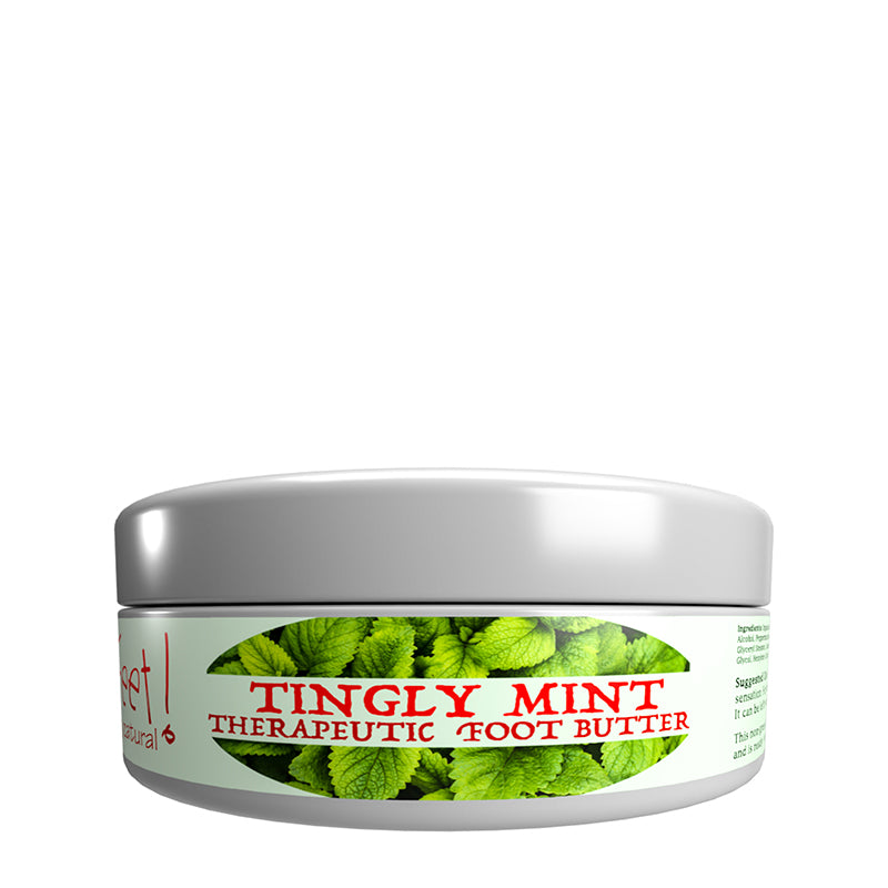 Tingly Mint Therapeutic Foot Butter | Hempy Feet