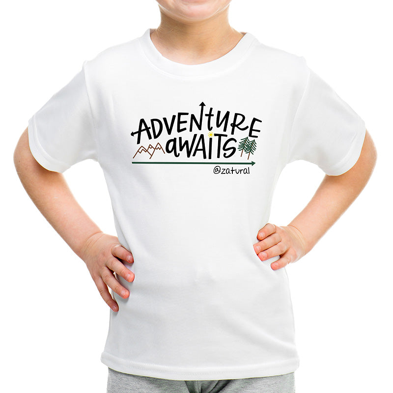 'Adventure Awaits' - Youth Graphic Tee