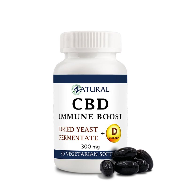 CBD Immune Boost Vegetarian Softgels