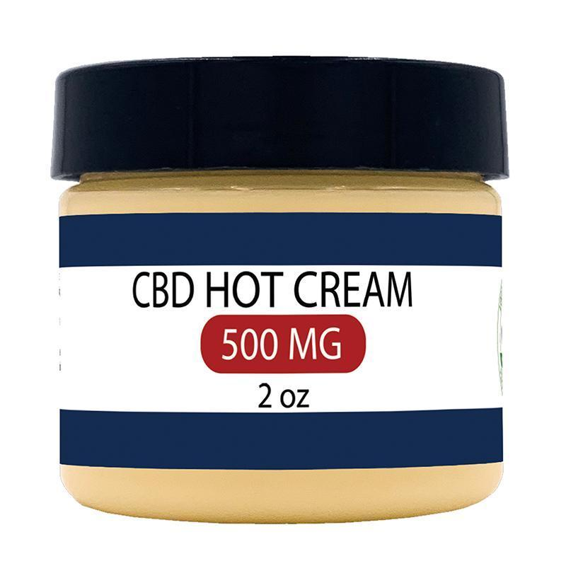 Zatural CBD Hot Cream sample