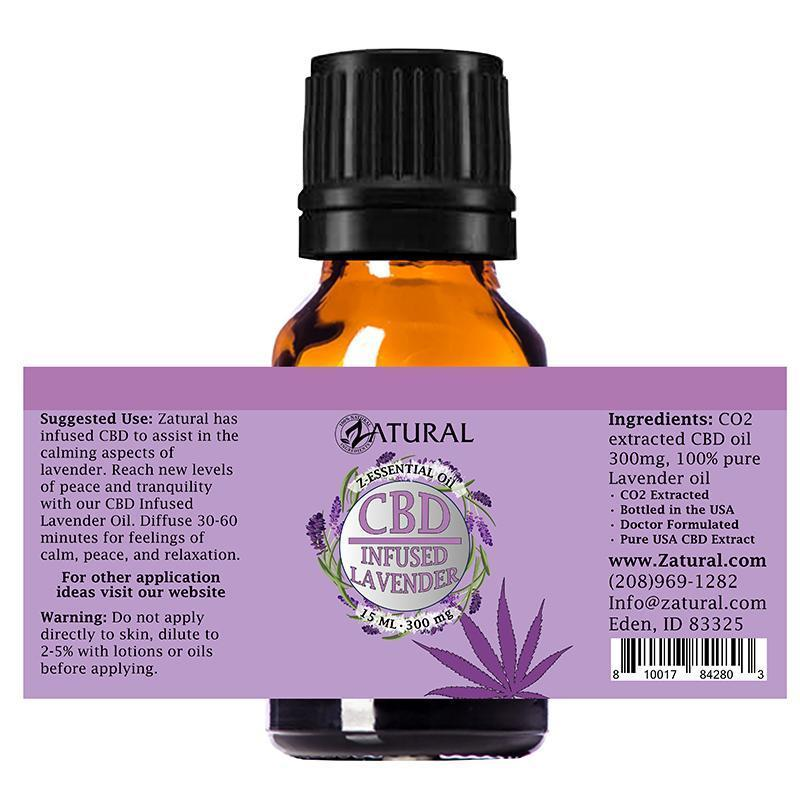 CBD Infused Lavender Oil