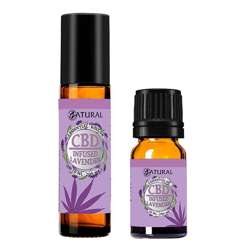 CBD Infused Essential Lavender oil Roll-On