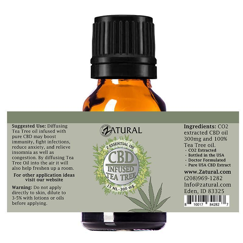 CBD Infused Tea Tree Oil