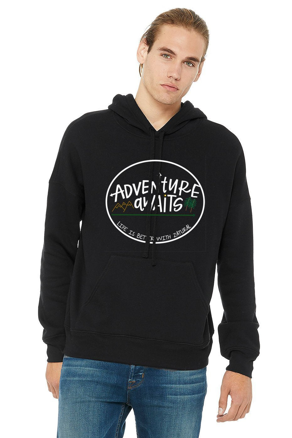 'Adventure Awaits' - Ultra-Soft Pullover SweatShirt