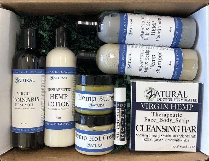 Zatural Hemp Sample Box