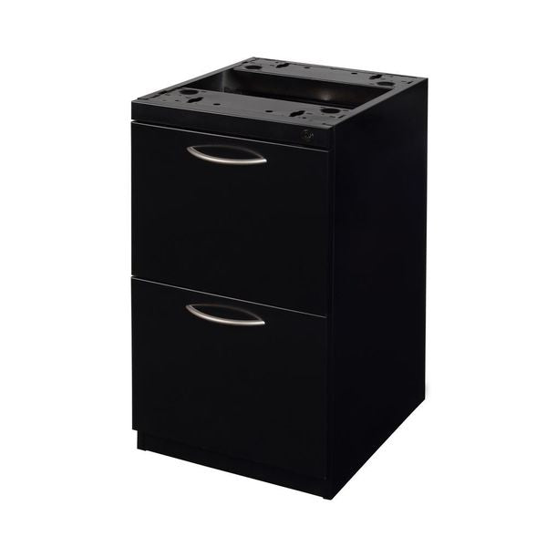"new Regency Fusion Black Box File Mobile Pedestal, 27"" x 18"" x 15"""