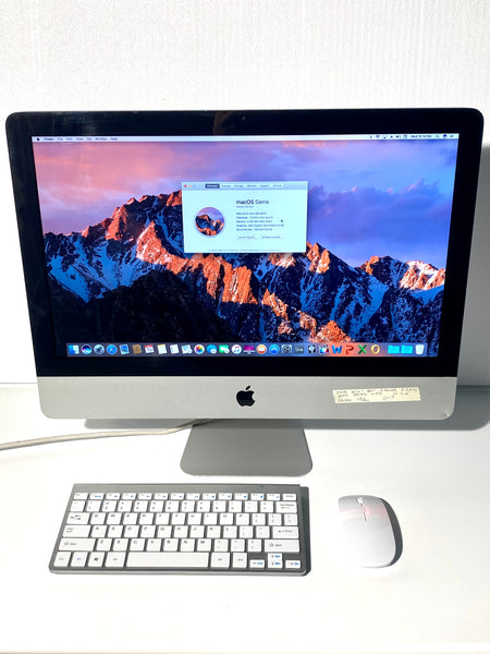 AApple iMac 21.5in. Mid 2011 MC309LL/A 8G 500GB Quad Core i5 2.5GHz with Wireless Keyboard and Mouse