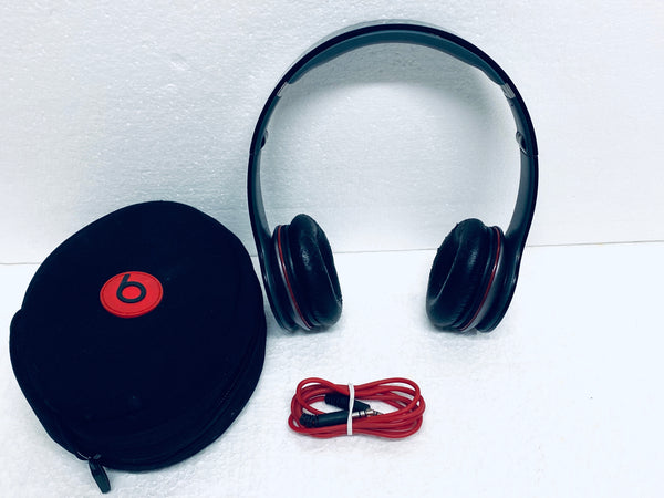 beats Solo HD Wired Headphones, Black/Gray