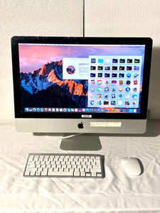 Apple iMac 21.5in. Late 2011 A1311 3.1GHz 4GB, 500GB i3 with Wireless Keyboard and Mouse