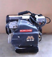 mi-t-m AM1-HE02-05M Hand Carry Electric Air Compressor, 5 gal, Single Stage, 2 hp, 120V, 15.0 amp, Black