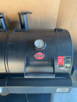 New Other Char-Griller Texas Trio 3-Burner Dual Fuel Grill with Smoker in Black