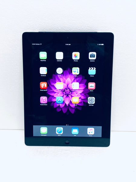 "Apple iPad 3rd Generation MC733LL/A 16GB Wi-Fi & Verizon Cellular 9.7"", Black/Silver Grade B"